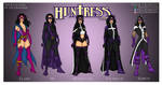 The Evolution of the Huntress by Femmes-Fatales