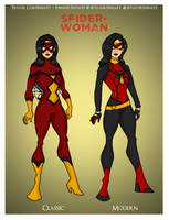 Spider-Woman - Jessica Drew by Femmes-Fatales