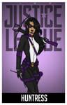 Huntress Redesign Portrait by Femmes-Fatales