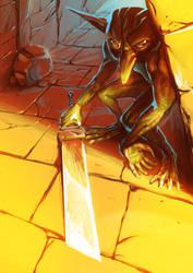 Sneaky Goblin by zsabreuser