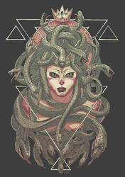 Gorgon Queen by zsabreuser