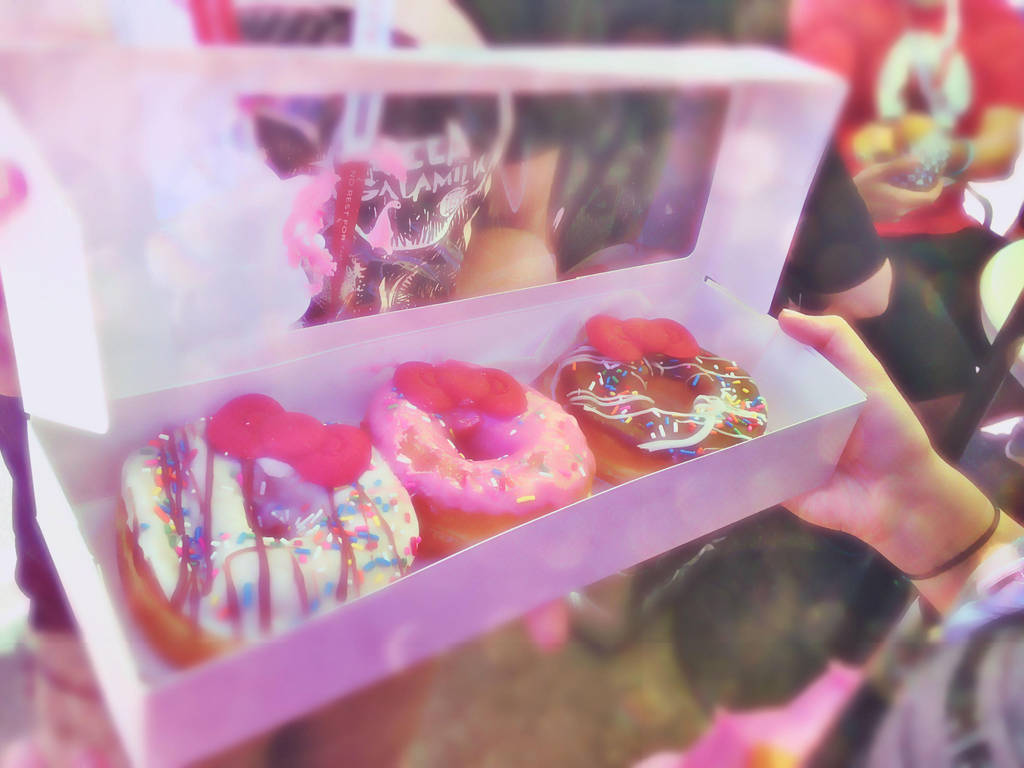 Hello Kitty Donuts By Laserbaconninja On Deviantart