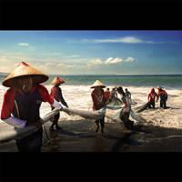 Nelayan Pangandaran by Jayantara