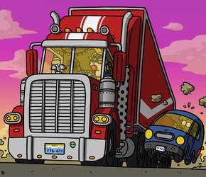 Hit the road by StoneRabbit