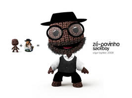 Ze-Povinho Sackboy by edgarbaptista