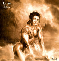 Laura Bass-Sepia Version by Zed-lah