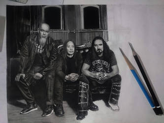 Drawing on paper by dnadam