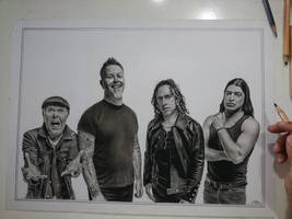 Pencils on paper A3 size by dnadam