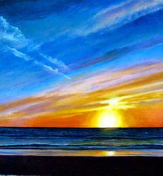 Tampa Bay Sunset by katiebug08