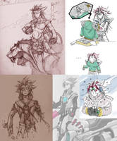 Sketch Miscellany by Riechstag
