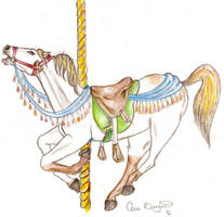 Carousel Horse:. by Aric414