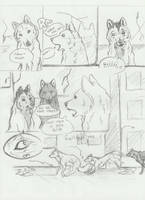 Silent Night- wolf poision pt6 by Aric414