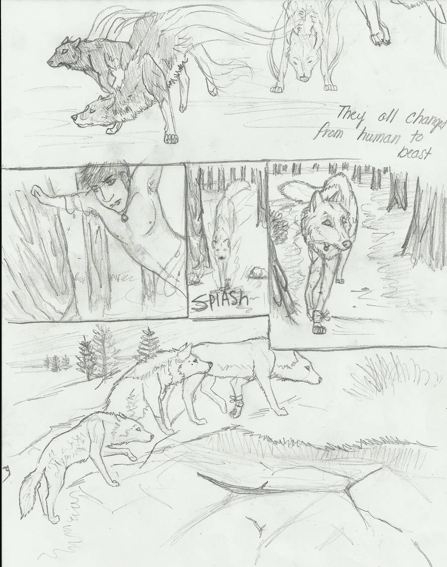 Silent Night-wolf poision pt18 by Aric414