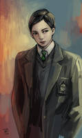 Tom Riddle by gtako