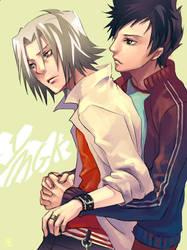Yamamoto+Gokudera by gtako