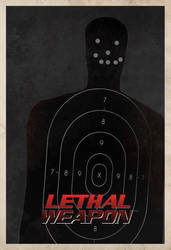 Lethal Weapon POSTER by edgarascensao