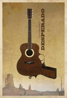 DESPERADO custom Poster by edgarascensao