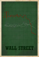 Wall Street Poster by edgarascensao