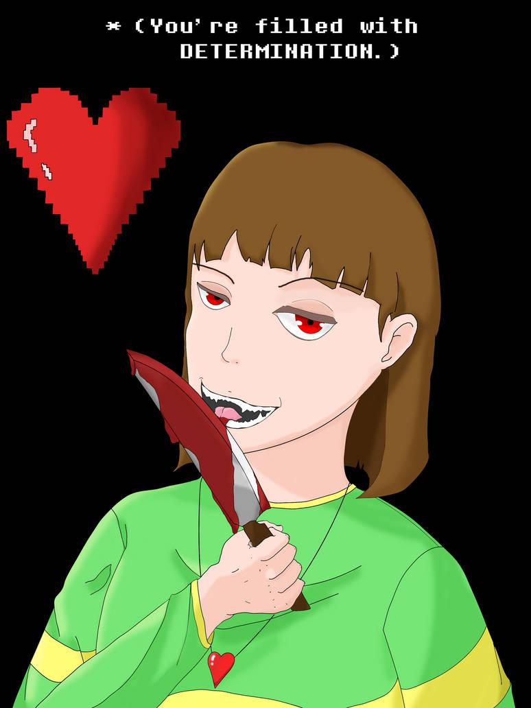 Chara Knife by Harseo