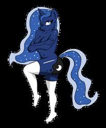 Saucy Luna by IllusiveElusive