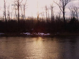 naviglio vecchio sunset by Impiccato