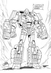 Combiner Wars Ironhide by neurowing