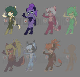 Sonic/anthro Adopts OTA (Open 3/8) by IncredibleCherry