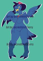 Adopt Blue Bird (OPEN) by IncredibleCherry