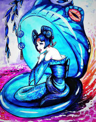 Shuzu: Mermaids are hot by govthescoffer