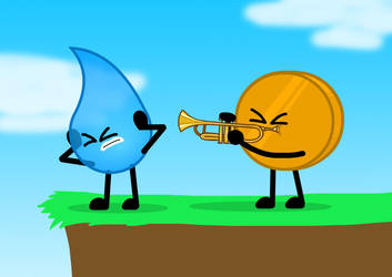 ''New Friendly'' but played by Coiny via trumpet by Sugar-CreatorOfSFDI