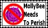 Anti-MollyBee Stamp by GlazeSugarNavalBlock
