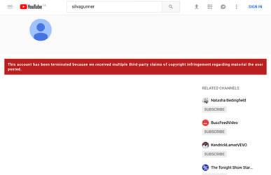 Wait... SiIvaGunner has been terminated?! by GlazeSugarNavalBlock