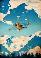 First Flight by MagicalViper