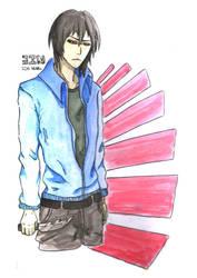 Human Jin(Colored) by pokeczarelf