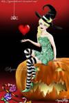 Halloween Cutie by SayuriMVRomei