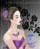 Margot's tea time by SayuriMVRomei