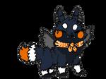 Halloween Vampire Bat Cake Sushi Dog by donkeyhooves