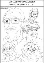 Stan Lee (1922-2018) by Jojocoso