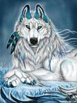 Makenna the white majesty by Suenta-DeathGod