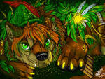 Just believe -peter pan wolf pup by Suenta-DeathGod