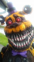 Nightmare Fredbear cosplay profile by Suenta-DeathGod