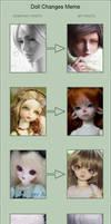 Doll Changes Meme by fantasywoods