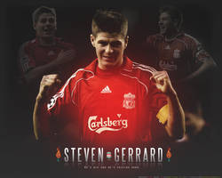 Steve Gerrard. by lfcmarc