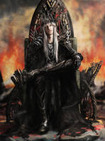 Sauron by Irbisty