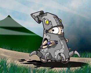 codename squidbot by naart