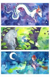 ghibli dream by ameru