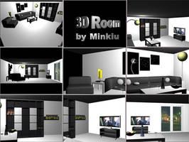 3D Minimal Room by Minkiu