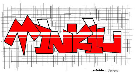 Minkiu Graffiti by Minkiu