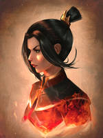 Azula sketch by raikoart