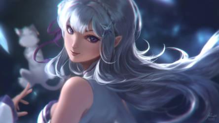 Re:Zero: Emilia by raikoart